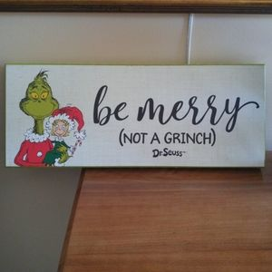 Grinch Wall decor